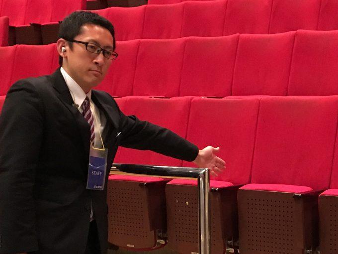 横浜みなとみらいホールの吹奏楽大会運営スタッフ