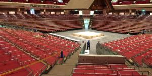 大相撲トーナメント会場設営補助