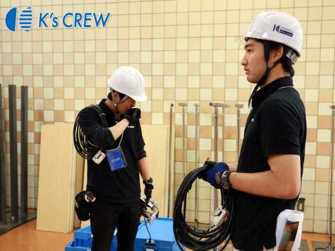 FOODEX JAPAN(展示会)のスタッフ